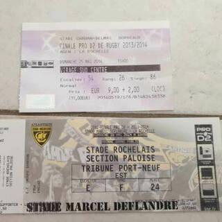 Les tickets de match de Corinne