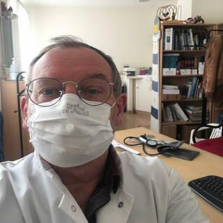 """Jean-Luc - Médecin Généraliste - """"Restez chez vous ! En Jaune et Noir !"""""""