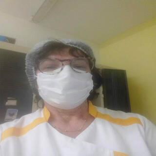 """Valérie - AVS en EHPAD - """"Allez le stade tous ensemble contre le virus"""""""