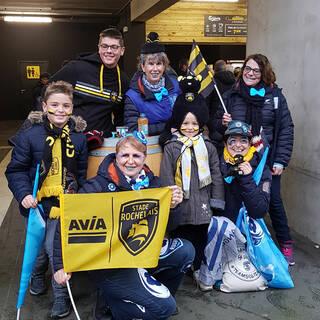Avec les supporters Montpelliérains