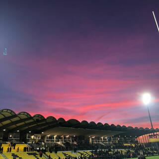 Encore un cliché de ce magnifique coucher de soleil !