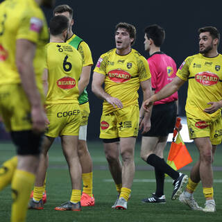 01/02/2020 - Supersevens - Match Classement 1 - Agen 19 / 21 Stade Rochelais