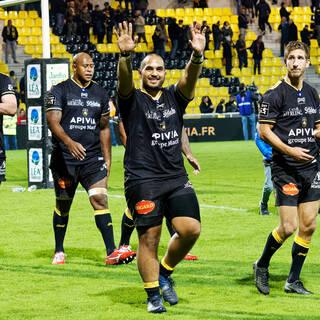 03/11/2018 - Top 14 - J9 - Stade Rochelais 33 / 29 Agen