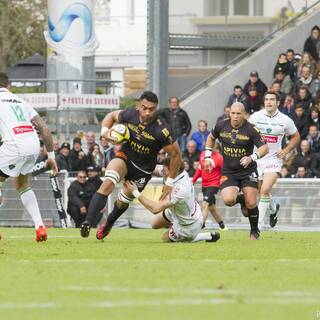 06/11/16 - Top 14 - J10 - Stade Rochelais 27 - 6 Pau