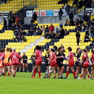 08/04/2018 - POC'ettes - Stade Rochelais 10 / 22 Tarbes