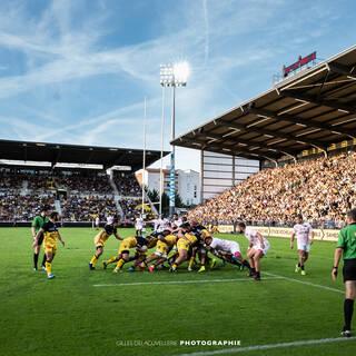 10/08/2018 - Pré-saison - Stade Rochelais 28 / 26 Stade Français Paris