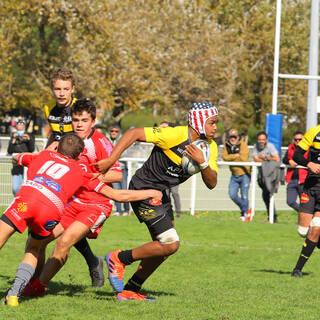 10/10/2020 - Cadets B - Stade Rochelais 25 / 15 Tarbes