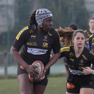 10/12/2018 - POC'ettes U18 - Bordeaux 15 / 8 Stade Rochelais