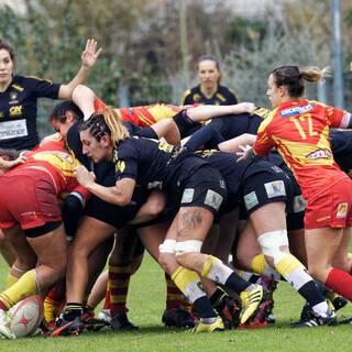 11/12/2016 - POC'ettes - J9 - Stade Rochelais 6 - 21 Perpignan