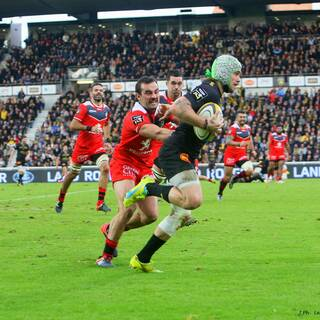 13/11/16 - Top 14 - J11 - Stade Rochelais 25 - 19 Toulouse
