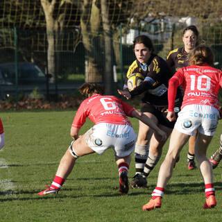 14/01/2018 - POC'ettes - Stade Rochelais 3 / 30 Lons