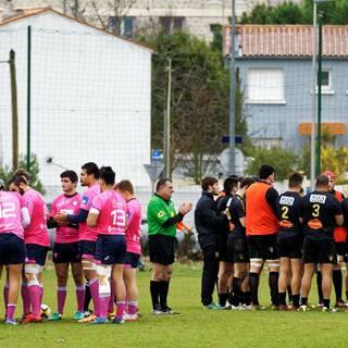 15/01/17 - J13 - Espoirs - Stade Rochelais 19 - 11 Stade Français