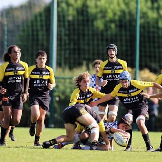 16/10/2021 - Cadets Gaudermen - Stade Rochelais 19 / 0 Bordeaux-Bègles