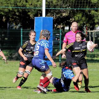 18/10/2020 - Fédérale 2 Féminine - Stade Rochelais 5 / 36 Melting Drop
