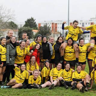23/02/20 - POC'ettes Réserve - Stade Rochelais 27 / 21 Sainte-Geneviève-des-bois