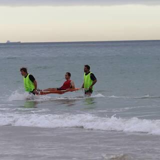 Entraînement à la Plage : Clôture préparation physique 2013/2014