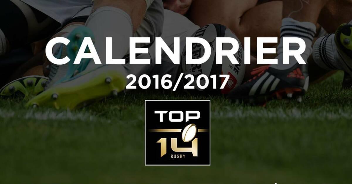 Calendrier rencontre top 14 2016