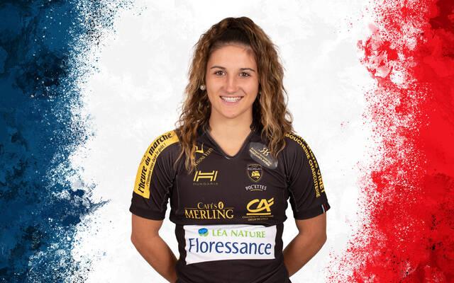 Alyssia Gaudin avec France U20