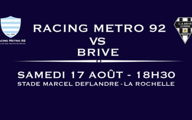 Billetterie RACING / BRIVE