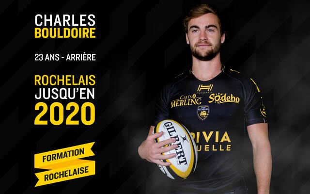 Charles Bouldoire, Rochelais jusqu'en 2020 !