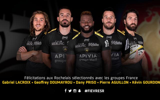 Bravo à nos 5 Rochelais retenus avec les groupes France !