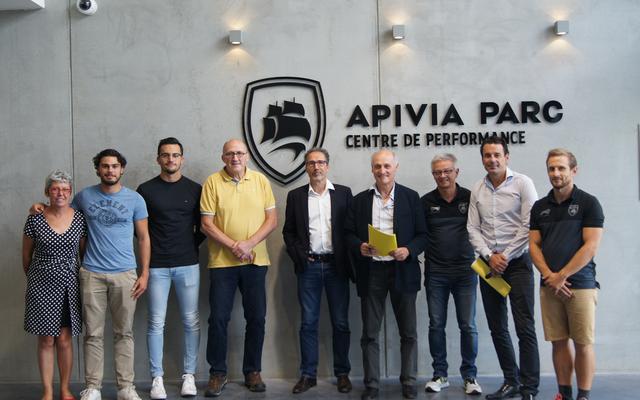 Construction d'un partenariat avec le SCO Rugby Club d'Angers