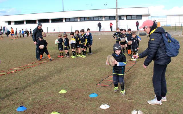 École de Rugby, Équipes Jeunes : retour sur le week-end !