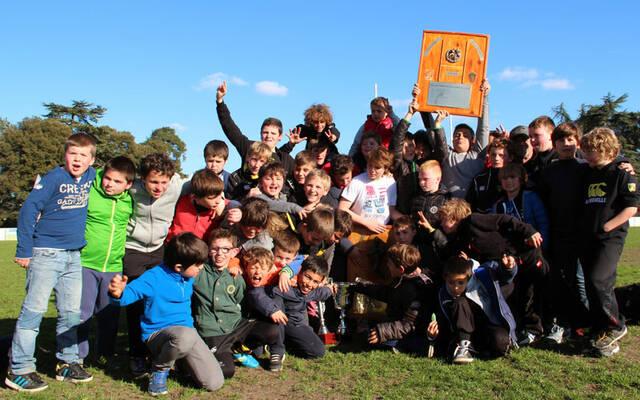 Encore un beau week-end pour l'Ecole de Rugby !