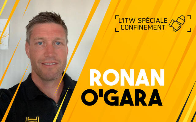 Interview confinement avec Ronan O'Gara