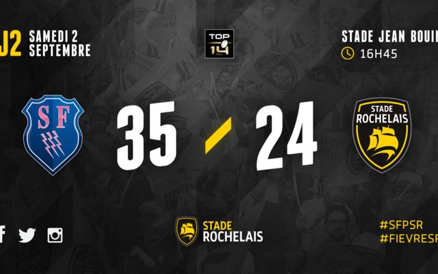 J2 - Stade Français 35-24 Stade Rochelais