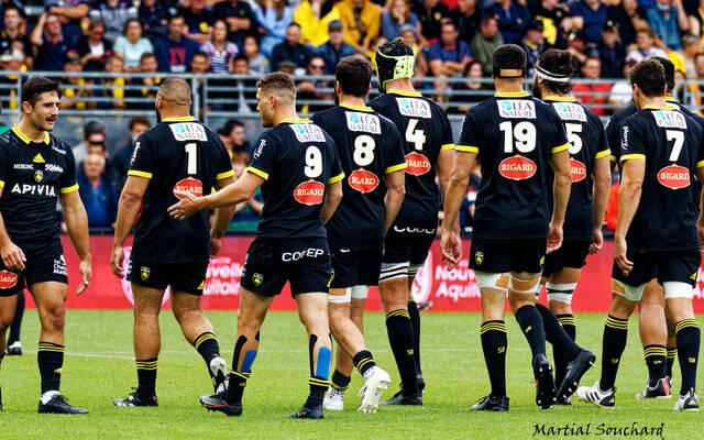 L'équipe pour le déplacement à Montpellier
