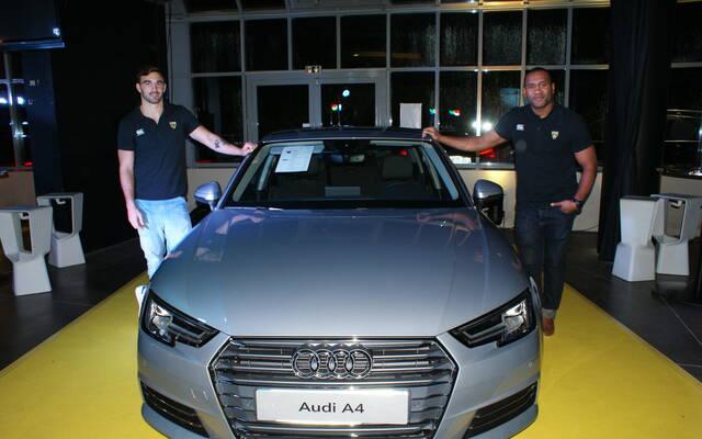 Lancement de la nouvelle Audi A4 à Deflandre
