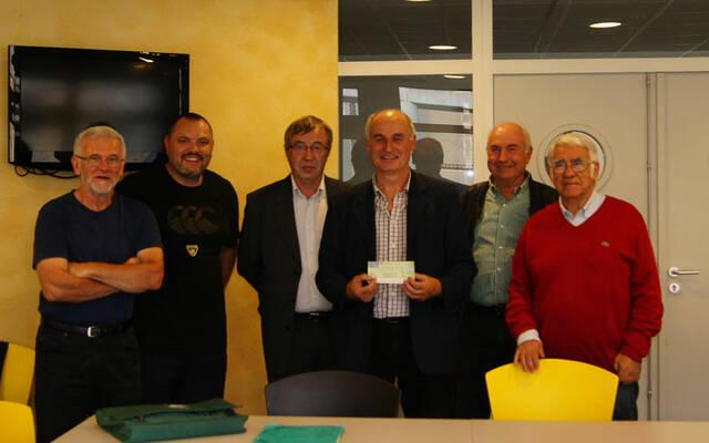 Le Stade Rochelais remercie le Lions Club