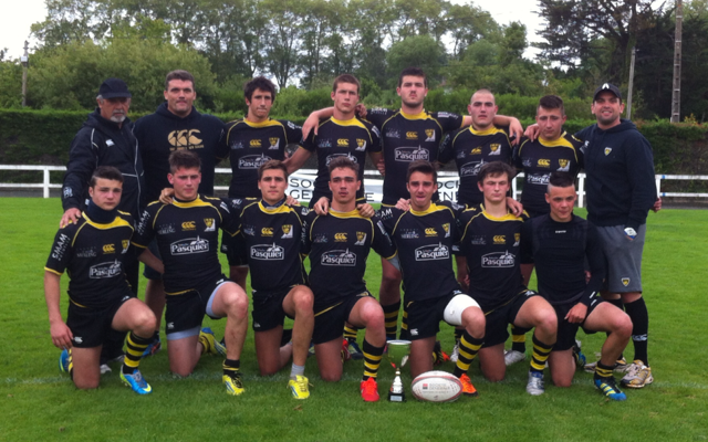 Les Cadets vice-champions de France à VII