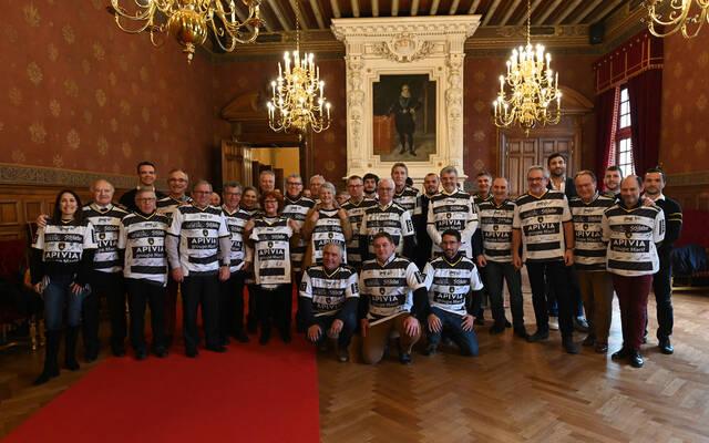 Les maires de la CDA aux couleurs du Club