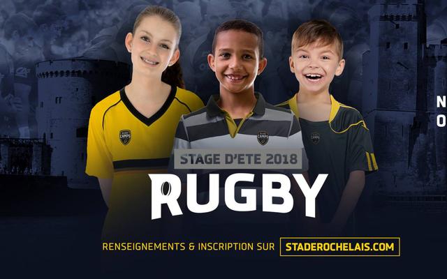 Rugby Camps, les stages d'été du Stade Rochelais !