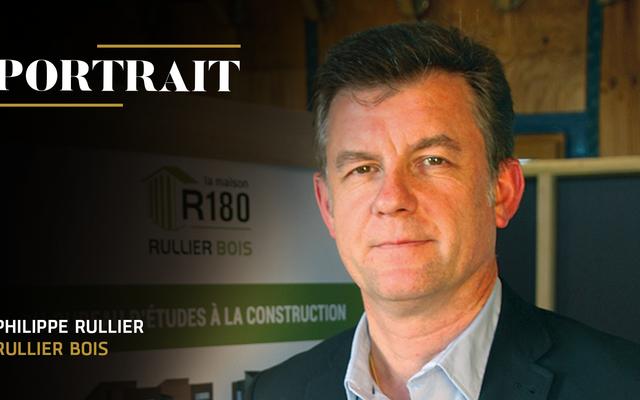 Philippe Rullier, Président du Groupe Rullier Bois