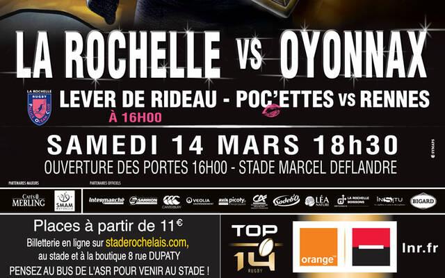 POC'ettes - Rennes en lever de rideau d'ASR - Oyonnax