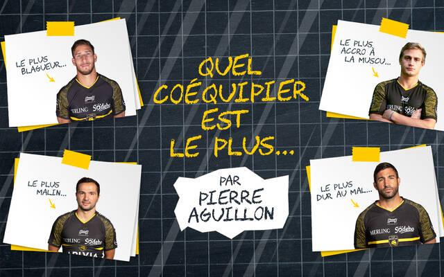 Quel coéquipier est le plus... par Pierre Aguillon
