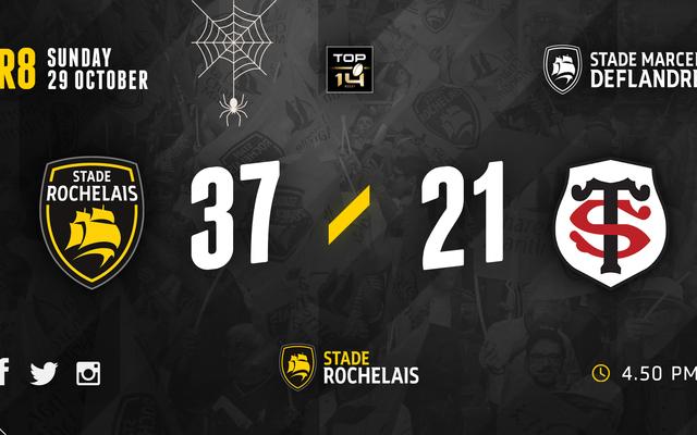 R8 - Stade Rochelais 37 / 21 Toulouse