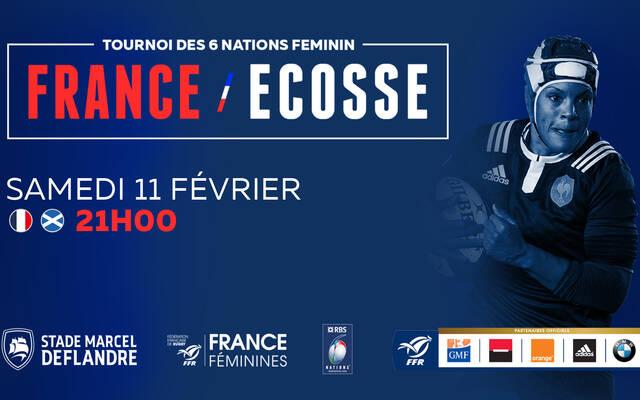 Suivez France Écosse Féminines en direct !