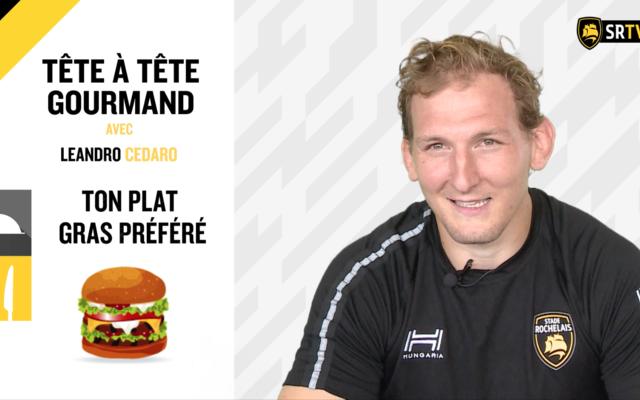 Tête à tête gourmand avec Leandro Cedaro !