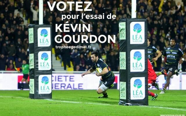 Trophée Gedimat : Kévin Gourdon !