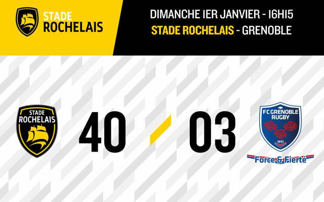 Victoire bonifiée face à Grenoble !