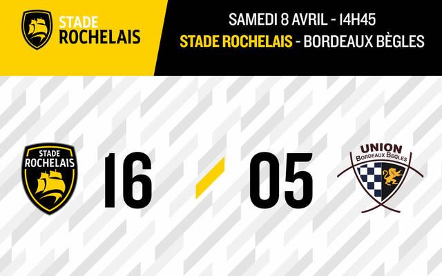 Victoire face à Bordeaux Bègles !