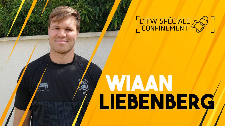 Interview confinement avec Wiaan Liebenberg
