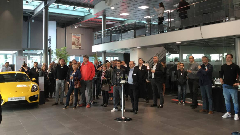 Lundi de l'Espace Entreprises chez Toyota-Lexus-Porsche