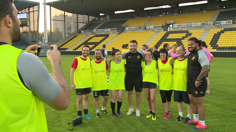 Minute Jaune et Noire - Touch Rugby du Club Partenaires !