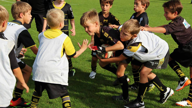 Retour en photos sur la rentrée de l'École de Rugby !