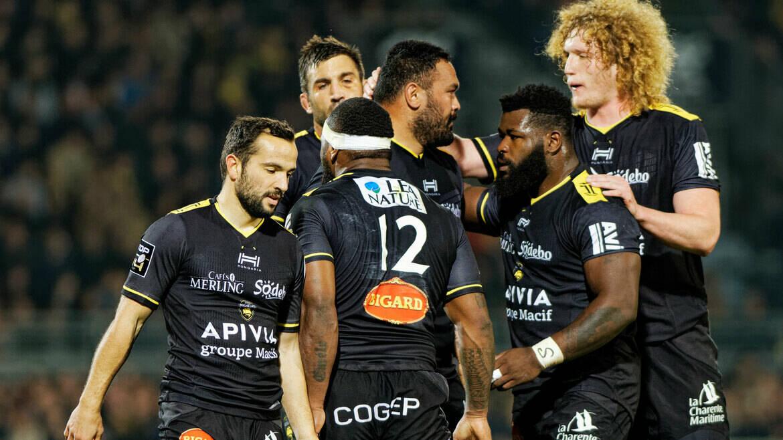 Stade Rochelais / Pau : the team !
